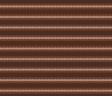 Brown Horizontal Stripe with Circles