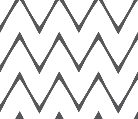 skinny_chevron fabric by holli_zollinger on Spoonflower - custom fabric