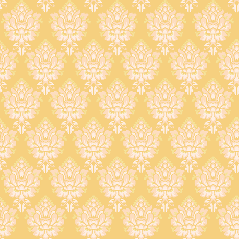 damask fabric by aliceelettrica on Spoonflower - custom fabric