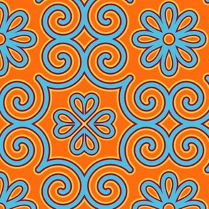 Mod Mongolian Gobi large motif
