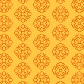 Mod Mongolian Gobi small motif