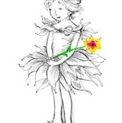 Flower fairy gold