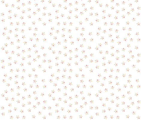 Carnival Candy in white fabric by thistleandfox on Spoonflower - custom fabric
