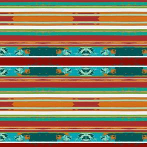 Beach bag stripe