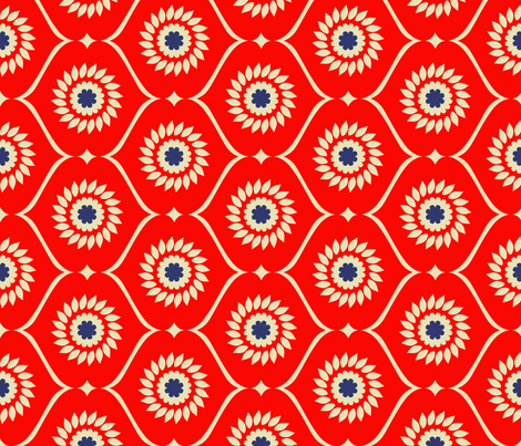 ekko_gloriosa fabric by holli_zollinger on Spoonflower - custom fabric