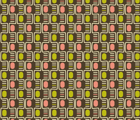 Pink Olives fabric by bojudesigns on Spoonflower - custom fabric