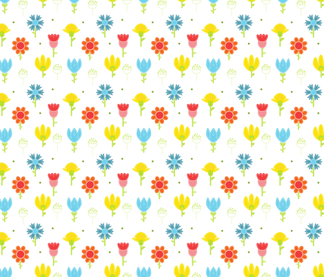 Summer time fabric by calidurge on Spoonflower - custom fabric