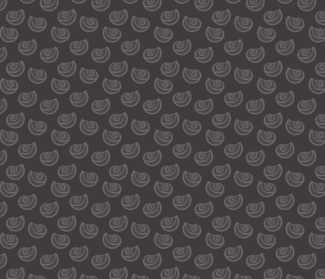 Grey leaf fabric by calidurge on Spoonflower - custom fabric