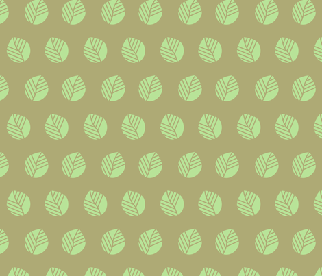 Leaves fabric by calidurge on Spoonflower - custom fabric