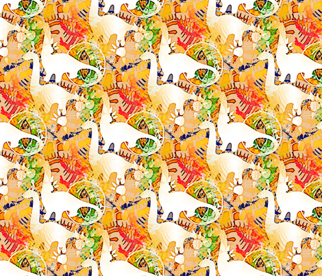 dino fabric by preeta on Spoonflower - custom fabric