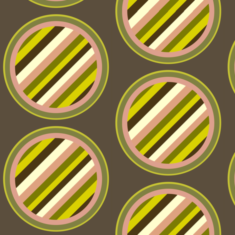 Dim Sum stripe dot fabric by whimzwhirled on Spoonflower - custom fabric