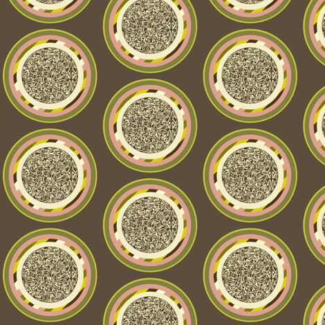 Dim Sum Noodle Dots fabric by whimzwhirled on Spoonflower - custom fabric