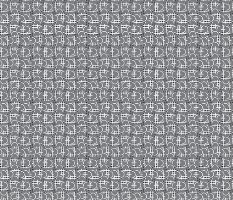 Grey-HCC-6 fabric by renelope on Spoonflower - custom fabric