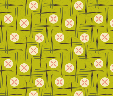 DIMSUM fabric by kwikdrw on Spoonflower - custom fabric