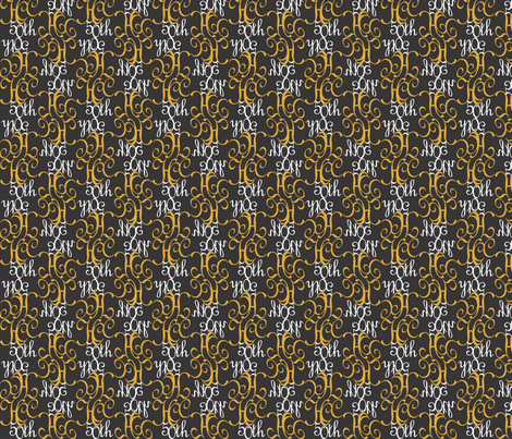 Gold-HCC-2 fabric by renelope on Spoonflower - custom fabric