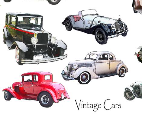 30x30 Vintage Car Decal