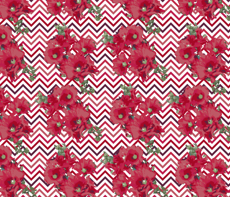Summer_Flowers fabric by bethanialimadesigns on Spoonflower - custom fabric