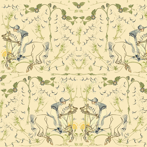 The Morning Gallop Toile
