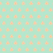 Shamrock Mint Peach