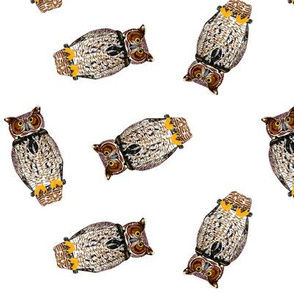 Wood Badge Owls