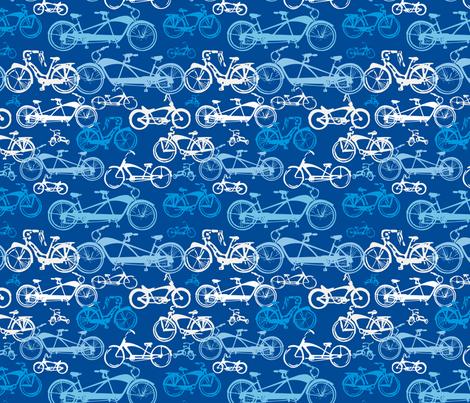 Beach Bikes in Blue