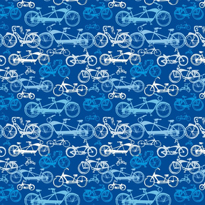 Beach Bikes in Blue