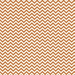 Mini Orange Chevron