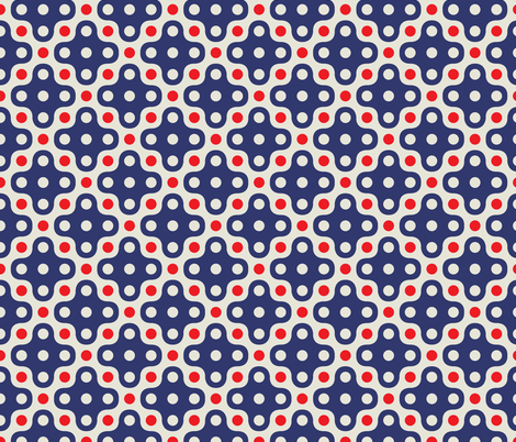 ekko_four_dot fabric by holli_zollinger on Spoonflower - custom fabric