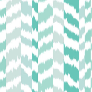 zig_zag_stripe_sheared_Aqua_Green_colour