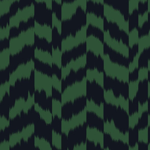 zig_zag_stripe_sheared_Black_Forest_Green