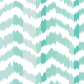 zig_zag_Mountain_stripe_Aqua_Green_colour