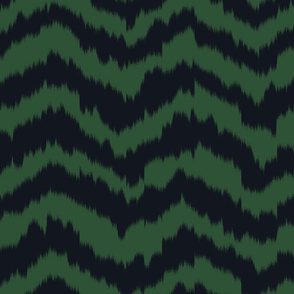 zig_zag_Mountain_stripe_Black_and_Forest_Green