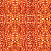 batik in orange