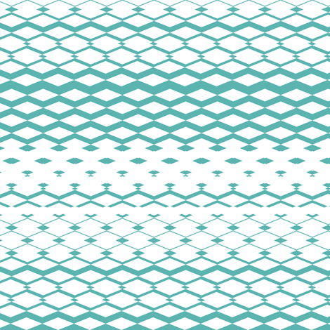MintDiamonds fabric by mrshervi on Spoonflower - custom fabric
