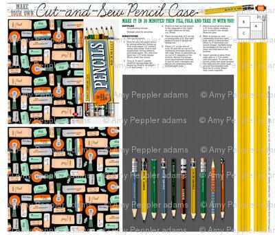 Cut-and-Sew Pencil Case