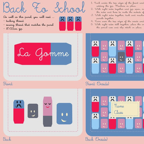'La Gomme' Pencil Case Kit
