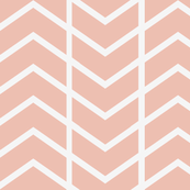 chevron stripe Dusty pink