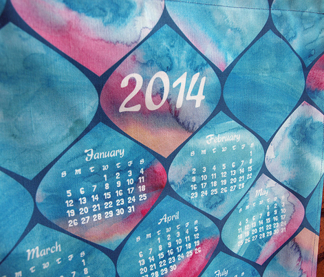 2014 Watercolor Wonders Calendar