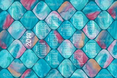 2014 Watercolor Wonders Calendar