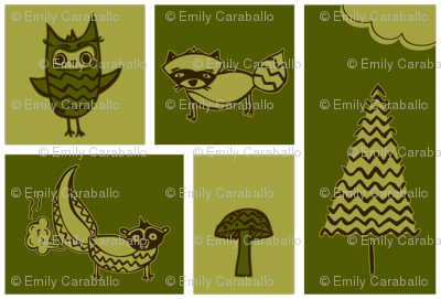 Forest Animal Blocks