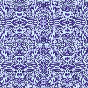 Swirly Curly Blues