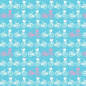 BicycleBasicRepeatColourswithBird