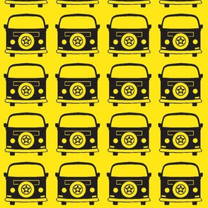 camper black yellow