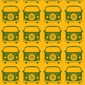 camper green yellow