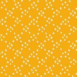 Cicle dots - orange