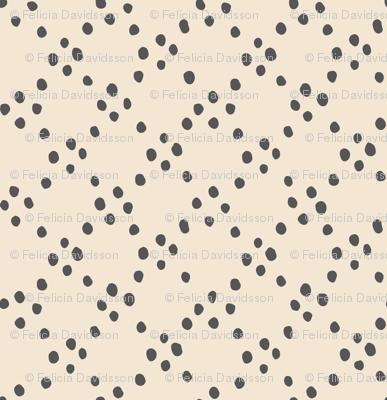 Circle dots - grey