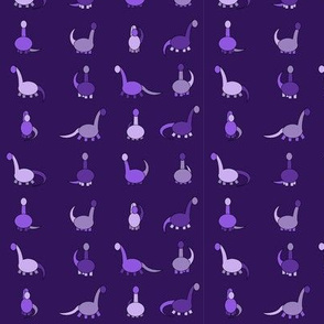 Purple dinosaurs