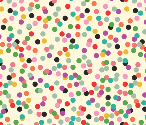 Confetti fabric by michellenilson on Spoonflower - custom fabric