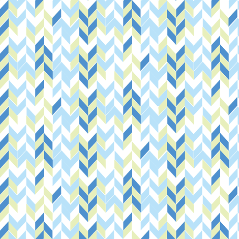 Blue arrows fabric by artytypes on Spoonflower - custom fabric