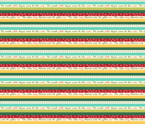 Line Parade fabric by snowflower on Spoonflower - custom fabric